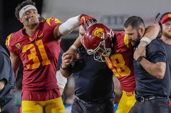USC's JT Daniels suffers torn ACL and will miss rest of 2019