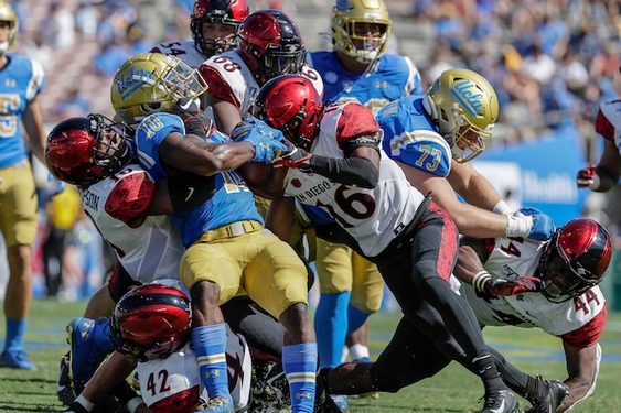 Demetric Felton Jr. is helping UCLA's offense move in the right direction