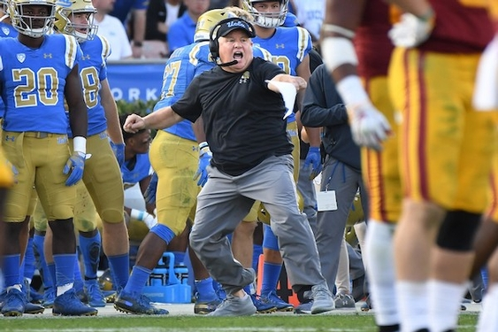 UCLA coach Chip Kelly says he remains fully committed to staying with Bruins