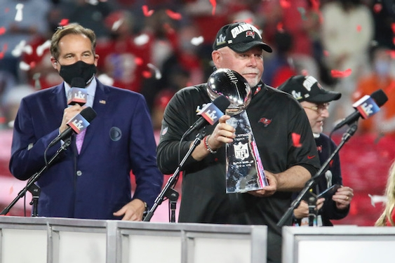 Bruce Arians knew Tom Brady was 'missing ingredient' to Buccaneers' championship