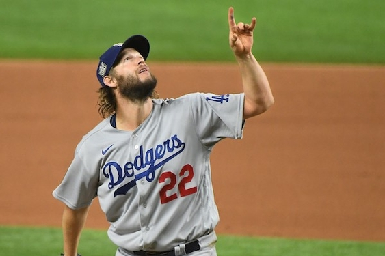 A burden lifted, Clayton Kershaw talks fatherhood — and his uncertain Dodgers future