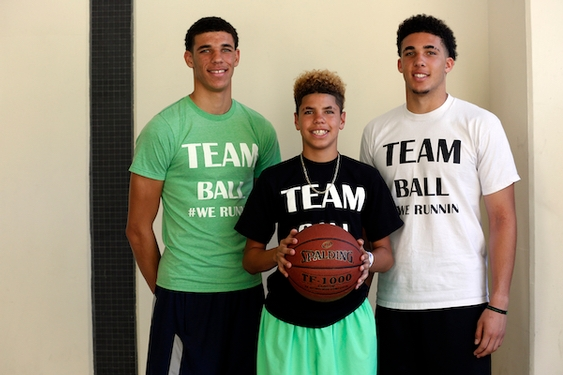 LaVar Ball: Reuniting his sons would be 'biggest thing in NBA'