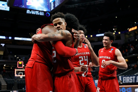 Clemson makes quick exit as Rutgers gets first NCAA Tournament win in 38 years