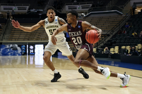 Michigan coasts by Texas Southern in first round of NCAA Tournament