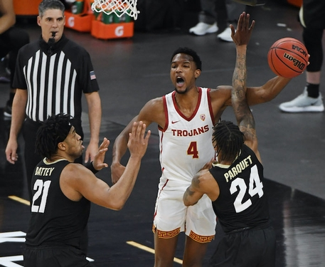 USC pulls away to defeat Drake in NCAA Tournament first-round game