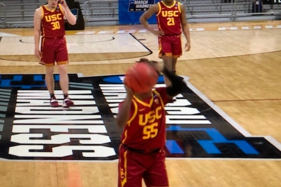 Kansas Jayhawks knocked out of NCAA Tournament by USC Trojans