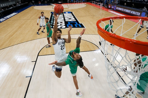 Villanova uses a 34-6 first-half run to defeat North Texas, 84-61, and advance to Sweet 16