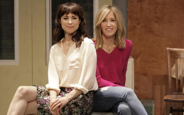 Felicity Huffman and Rebecca Pidgeon work to set 'Anarchist' free