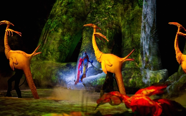 Cirque de Soleil's, Toruk comes to So. California