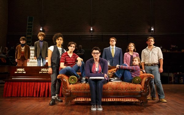 Tony Award-winning musical, 'Fun Home' now playing at the Ahmanson Theatre