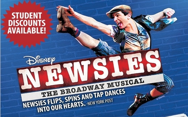 Newsies at La Mirada Theatre (June 1 - June 24)