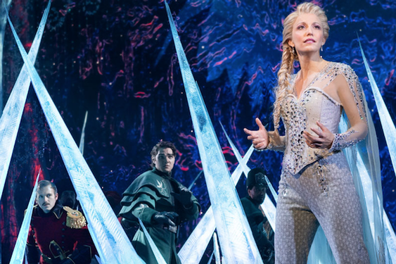 Disney's Frozen - The Hit Broadway Musical Now at the Hollywood Pantages Theatre thru Feb. 2nd