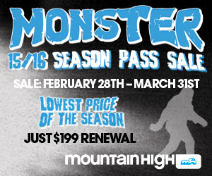 Mtn. High 2015 Season Pass