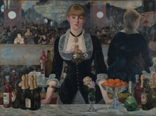 Manet's A Bar at the Folies-Bergère