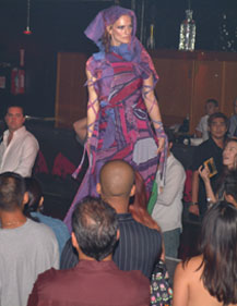 Levon Mouradian's Live Art Fashion Show