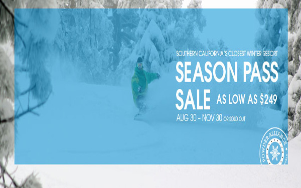 Mountain High 2014 Season Pass