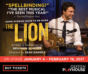 The Lion - Jan. 4 thru Feb. 19
