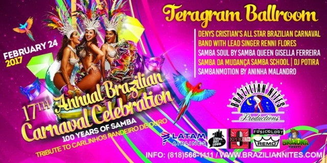 17th Annual Brazilian Carnaval Celebration